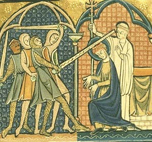 the death of thomas beckett Gervase of canterbury: thomas becket's death, from history of the archbishops of canterbury gervase (d1205) was a monk of canterbury he knew becket.